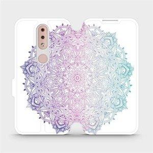 Flipové pouzdro Mobiwear na mobil Nokia 4.2 - M008S Mandala