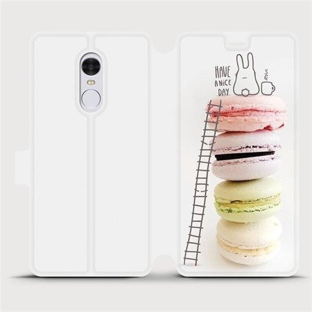 Flipové pouzdro Mobiwear na mobil Xiaomi Redmi Note 4 Global - M090P Makronky - have a nice day