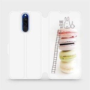 Flipové pouzdro Mobiwear na mobil Xiaomi Redmi 8 - M090P Makronky - have a nice day