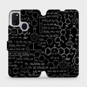 Flipové pouzdro Mobiwear na mobil Samsung Galaxy M21 - V060P Vzorečky