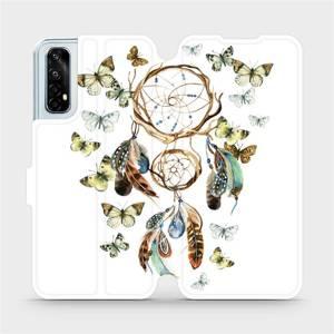 Flipové pouzdro Mobiwear na mobil Realme 7 - M001P Lapač a motýlci