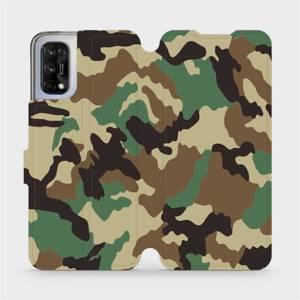 Flipové pouzdro Mobiwear na mobil Realme 7 5G - V111P Maskáče