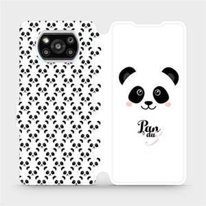 Flipové pouzdro Mobiwear na mobil Xiaomi Poco X3 Pro - M030P Panda Amálka