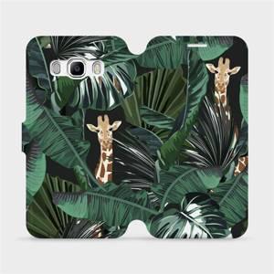 Flip pouzdro Mobiwear na mobil Samsung Galaxy J5 2016 - VP06P Žirafky