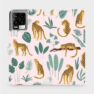 Flip pouzdro Mobiwear na mobil Realme 8 - MP07S Leopardi
