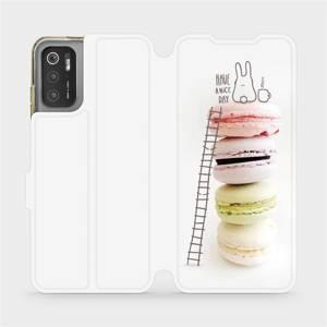 Flip pouzdro Mobiwear na mobil Xiaomi Poco M3 Pro 5G - M090P Makronky - have a nice day