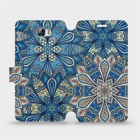 Flipové pouzdro Mobiwear na mobil Huawei Y6 II Compact - V108P Modré mandala květy