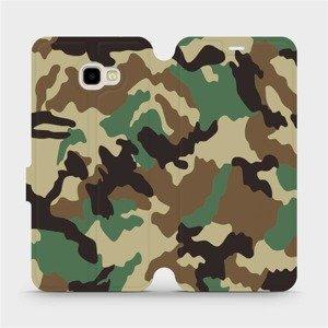 Flipové pouzdro Mobiwear na mobil Samsung Galaxy J4 Plus 2018 - V111P Maskáče