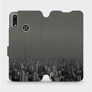 Flipové pouzdro Mobiwear na mobil Huawei P Smart 2019 - V063P Město v šedém hávu