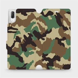 Flipové pouzdro Mobiwear na mobil Sony Xperia L3 - V111P Maskáče