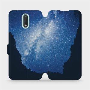 Flipové pouzdro Mobiwear na mobil Nokia 2.3 - M146P Galaxie