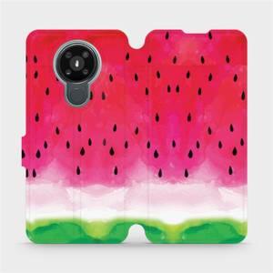 Flipové pouzdro Mobiwear na mobil Nokia 3.4 - V086S Melounek