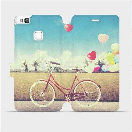 Flipové pouzdro Mobiwear na mobil Huawei P9 Lite - M133P Kolo a balónky