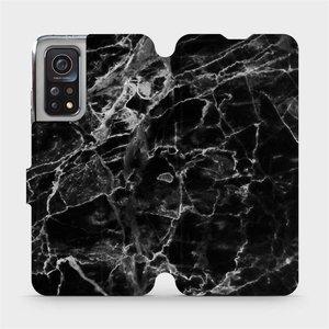 Flipové pouzdro Mobiwear na mobil Xiaomi MI 10T Pro - V056P Černý mramor