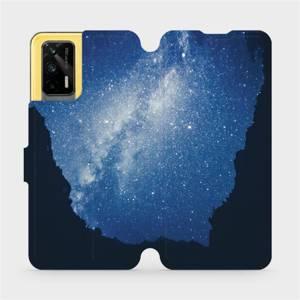 Flipové pouzdro Mobiwear na mobil Realme GT 5G - M146P Galaxie