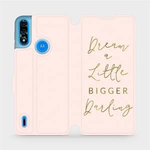 Flipové pouzdro Mobiwear na mobil Motorola Moto E7i Power - M014S Dream a little