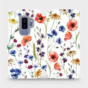 Flip pouzdro Mobiwear na mobil Samsung Galaxy S9 Plus - MP04S Luční kvítí