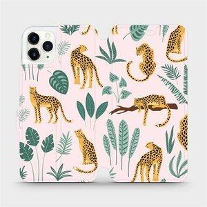 Flip pouzdro Mobiwear na mobil Apple iPhone 11 Pro Max - MP07S Leopardi