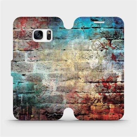 Flipové pouzdro Mobiwear na mobil Samsung Galaxy S7 Edge - V061P Zeď