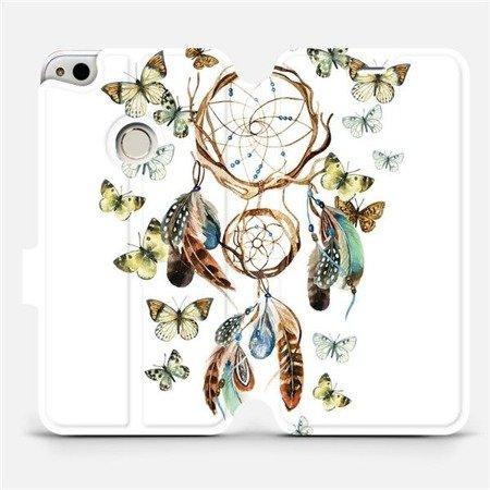 Flipové pouzdro Mobiwear na mobil Huawei P9 Lite 2017 - M001P Lapač a motýlci