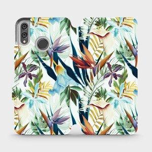 Flipové pouzdro Mobiwear na mobil Honor 8X - M071P Flóra