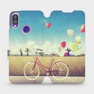 Flipové pouzdro Mobiwear na mobil Xiaomi Redmi Note 7 - M133P Kolo a balónky