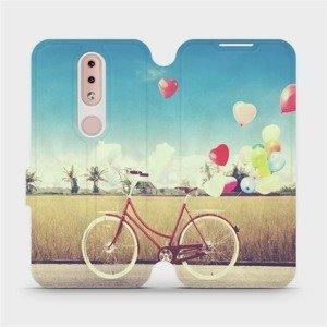 Flipové pouzdro Mobiwear na mobil Nokia 4.2 - M133P Kolo a balónky