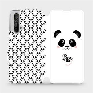 Flipové pouzdro Mobiwear na mobil Realme X3 SuperZoom - M030P Panda Amálka