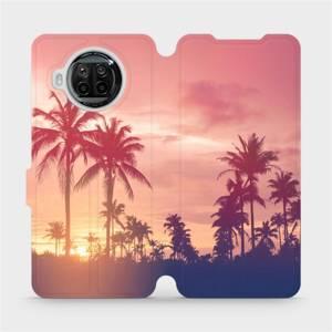 Flipové pouzdro Mobiwear na mobil Xiaomi MI 10T Lite - M134P Palmy a růžová obloha