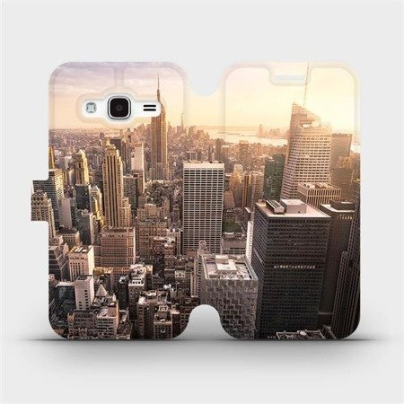 Flipové pouzdro Mobiwear na mobil Samsung Galaxy J3 2016 - M138P New York