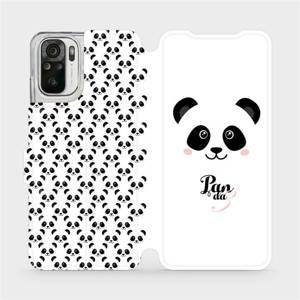 Flipové pouzdro Mobiwear na mobil Xiaomi Redmi Note 10 - M030P Panda Amálka