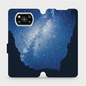 Flipové pouzdro Mobiwear na mobil Xiaomi Poco X3 Pro - M146P Galaxie