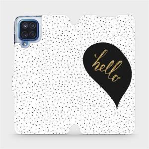 Flipové pouzdro Mobiwear na mobil Samsung Galaxy M12 - M013P Golden hello