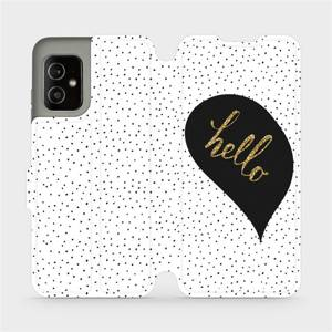 Flip pouzdro Mobiwear na mobil Asus Zenfone 8 - M013P Golden hello