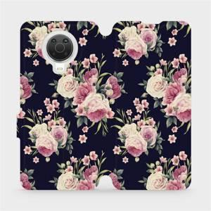Flip pouzdro Mobiwear na mobil Nokia G20 - V068P Růžičky