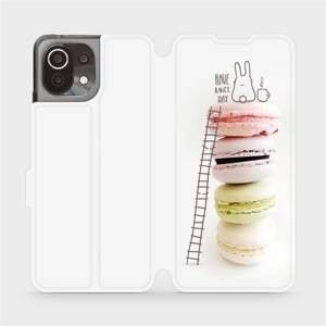 Flip pouzdro Mobiwear na mobil Xiaomi 11 Lite 5G NE - M090P Makronky - have a nice day