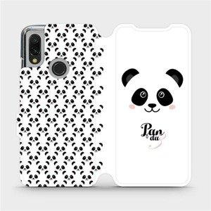 Flipové pouzdro Mobiwear na mobil Xiaomi Redmi 7 - M030P Panda Amálka