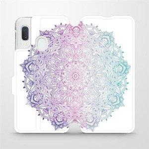Flipové pouzdro Mobiwear na mobil Samsung Galaxy A20e - M008S Mandala