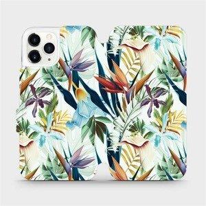 Flipové pouzdro Mobiwear na mobil Apple iPhone 11 Pro - M071P Flóra
