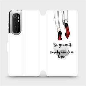 Flipové pouzdro Mobiwear na mobil Xiaomi Mi Note 10 Lite - M046P Be yourself