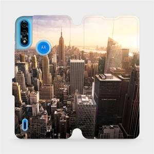 Flipové pouzdro Mobiwear na mobil Motorola Moto E7i Power - M138P New York