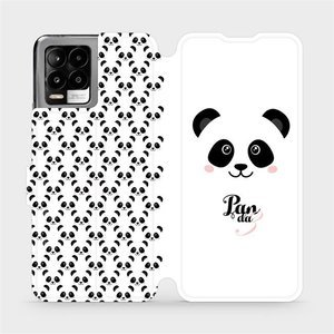 Flip pouzdro Mobiwear na mobil Realme 8 - M030P Panda Amálka