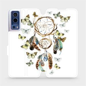 Flip pouzdro Mobiwear na mobil Vivo Y72 5G / Vivo Y52 5G - M001P Lapač a motýlci