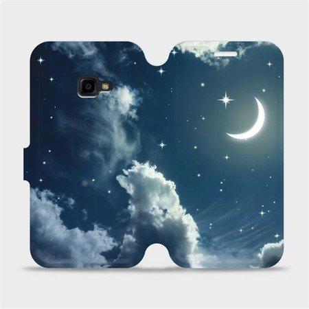 Flipové pouzdro Mobiwear na mobil Samsung Xcover 4 - V145P Noční obloha s měsícem
