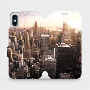 Flipové pouzdro Mobiwear na mobil Apple iPhone XS - M138P New York