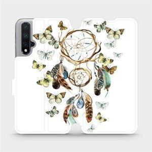 Flipové pouzdro Mobiwear na mobil Honor 20 - M001P Lapač a motýlci