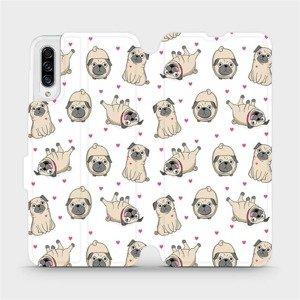 Flipové pouzdro Mobiwear na mobil Samsung Galaxy A30s - M097P Mopsíci