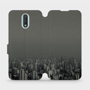 Flipové pouzdro Mobiwear na mobil Nokia 2.3 - V063P Město v šedém hávu