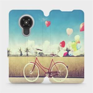 Flipové pouzdro Mobiwear na mobil Nokia 5.3 - M133P Kolo a balónky