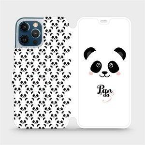 Flipové pouzdro Mobiwear na mobil Apple iPhone 12 Pro Max - M030P Panda Amálka